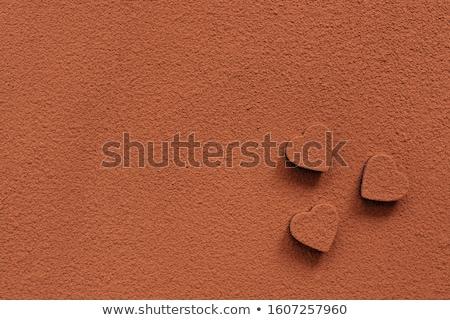 Sprinkle cocoa ground Stock photo © Fotografiche