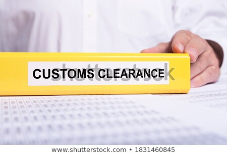 Office folder with inscription Export. Stock photo © tashatuvango