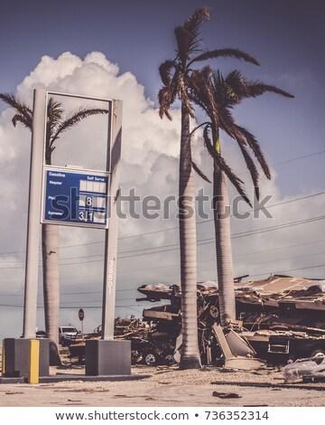 tropische · storm · sleutel · west · donkere · wolk - stockfoto © elenaphoto
