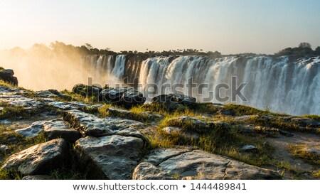Botswana Waterfall Stock photo © THP