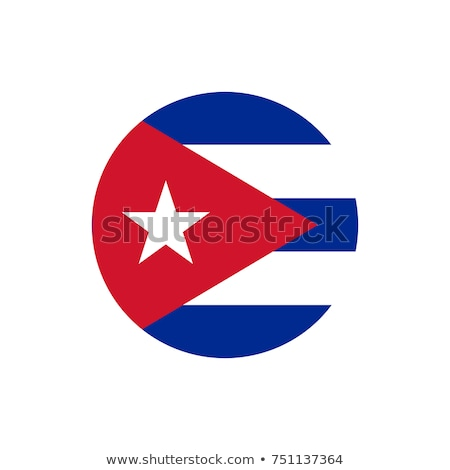 Cuba flag button Stock photo © ojal