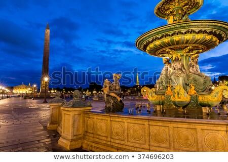 concorde square in paris stock photo © dutourdumonde
