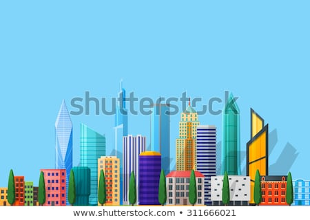 views of the different buildings stock photo © artjazz