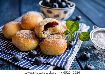 Dolce lievito jam riempimento alimentare frutta Foto d'archivio © Digifoodstock