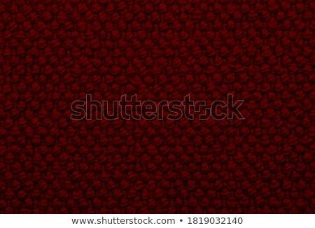 глубокий красный грубый ткань аннотация текстуры Сток-фото © sarahdoow