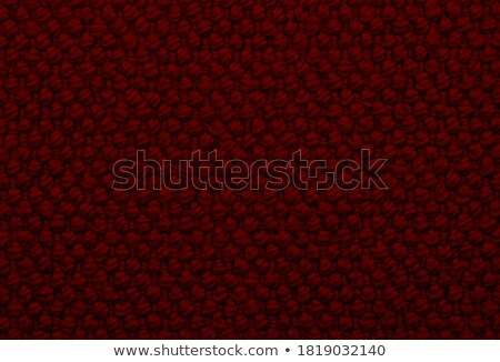 Deep red coarse woven fabric background Stock photo © sarahdoow