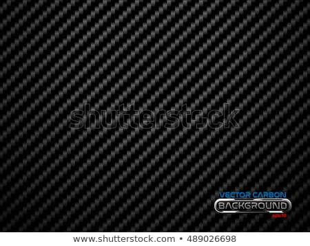 Vector black carbon fiber volume background Stock photo © Iaroslava