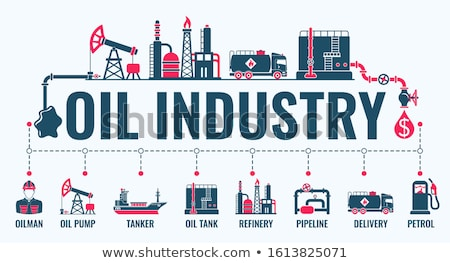 Industrial banner with manometer Stock photo © blackmoon979