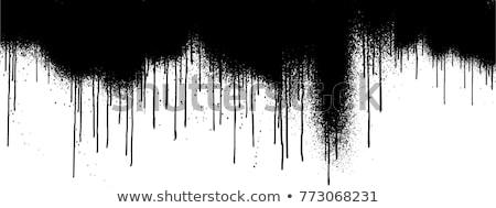 inkt · water · abstract · geïsoleerd · witte · kleurrijk - stockfoto © sarts