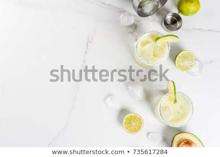 Classic Margarita with Lime and Salt Stock photo © FOTOART-MD