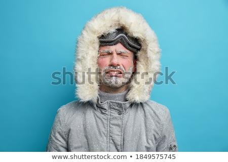 Umutsuz adam ceket ağlayan eller Stok fotoğraf © stevanovicigor