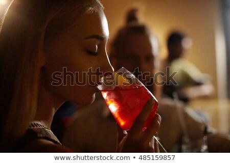 foule · festival · de · musique · discothèque · femme - photo stock © wavebreak_media