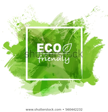 Green Blot Eco Friendly Stock photo © barbaliss