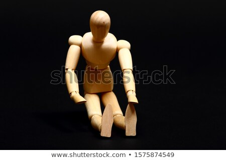 body builder manikin stock photo © njnightsky
