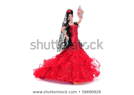 spanish doll dressed as a typical flamenco dancer Stock photo © nito