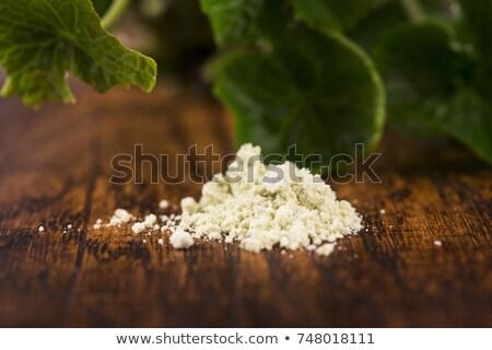 Drogen poeder japans mierikswortel wasabi natuur Stockfoto © joannawnuk
