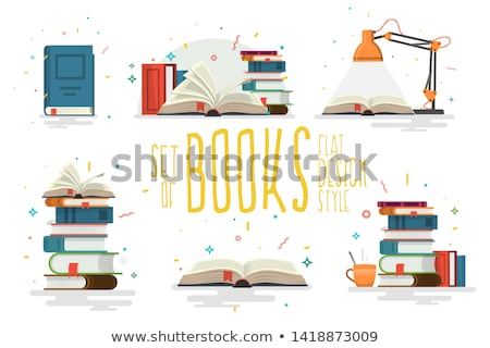 Brain on a pile of books Stock photo © IS2