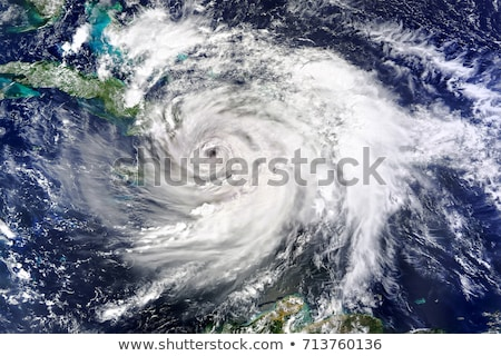 A Hurricane viewed from space. Elements of this image are furnished by NASA stock photo © NASA_images