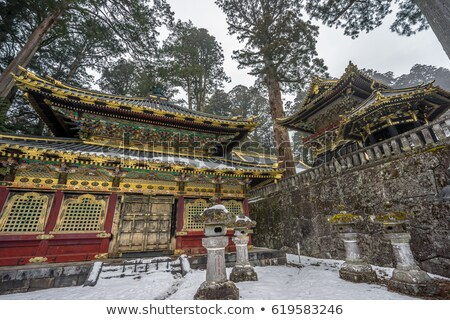 Storehouse at Tosho gu shrine at Nikko, Japan Stock photo © boggy