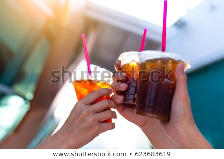 Summer drink iced coffee Stock photo © grafvision