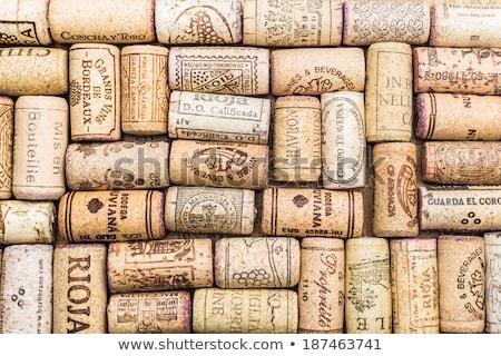 şarap · arka · plan · alkol · mantar - stok fotoğraf © vapi