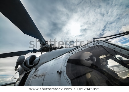 polígono · militar · helicóptero · ícone · imagem · estilo - foto stock © colematt