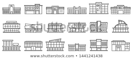 Supermarket Stores Departments and Sellers Vector Stock photo © robuart