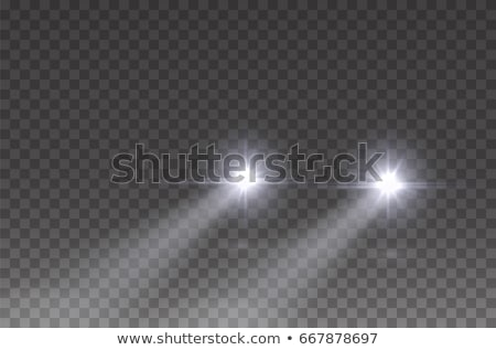 électricité · signe · isolé · blanche · vecteur - photo stock © marysan