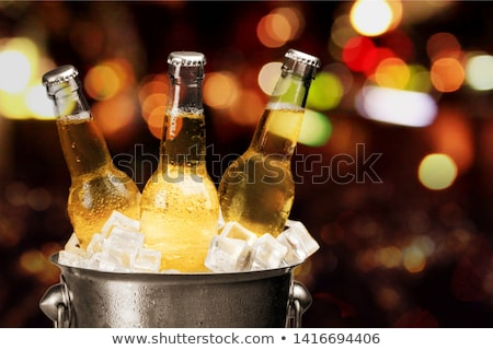 Ice cold beer Stock photo © colematt