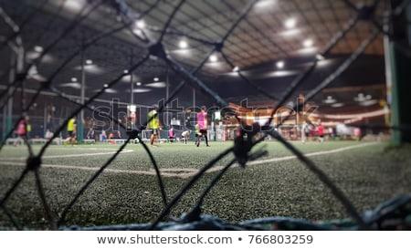 小さな プレーヤー サッカーボール サッカー ストックフォト © matimix