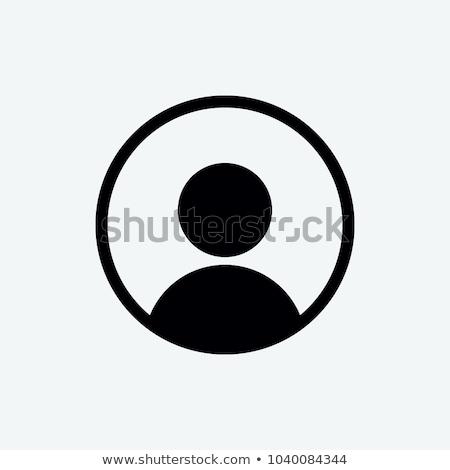 sosyal · ağ · poster · simgeler · vektör · yalıtılmış - stok fotoğraf © robuart