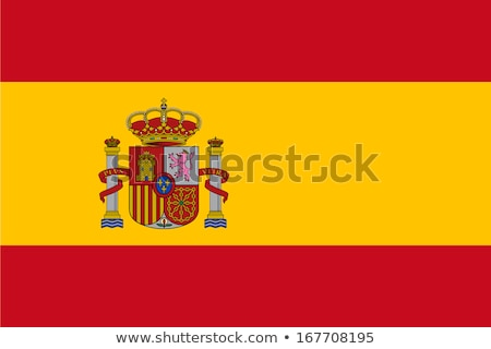 Reino Espanha bandeira secar terra terreno Foto stock © grafvision