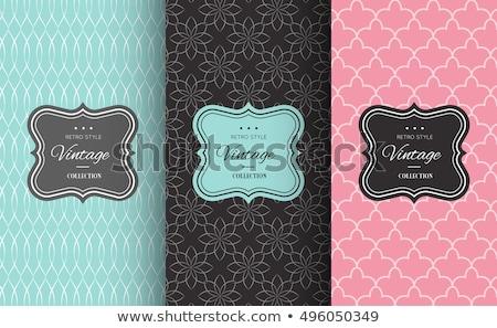 chocolate set pattern stock photo © netkov1