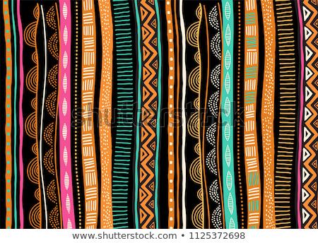 Afrika · térkép · afrikai · nő · kisebbségi · eredet - stock fotó © cienpies
