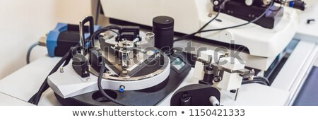 atomic force microscope in a laboratory BANNER, long format Stock photo © galitskaya
