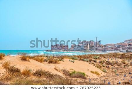 Plaj güney İspanya boş Stok fotoğraf © amok