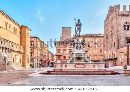 Fountain of Neptune, Bologna Stock photo © borisb17