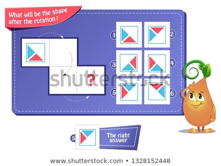 forma · juego · adultos · educativo · ninos · desarrollo - foto stock © olena