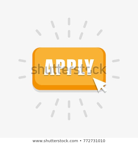 Apply button with hand cursor for web form submission, campaign participation banners, blogs, conten Stock photo © kyryloff