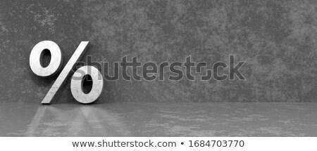 Percentage Symbol Stock photo © AndreyPopov