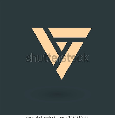 Trinity Knot in triangle. Trinity concept. Business identity tech element. Stock Vector illustration Stock photo © kyryloff