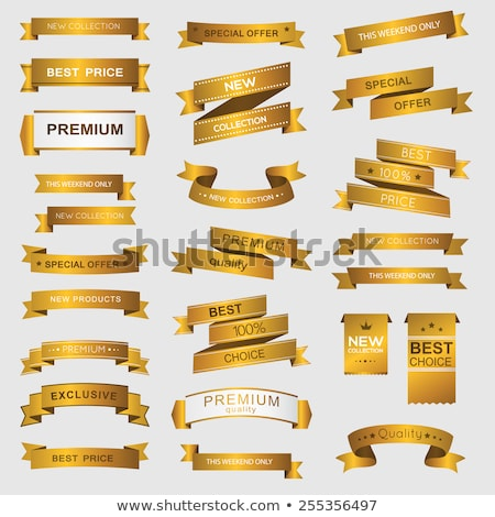 Best Price Banner, Gold Frame and Discount Sign Stock photo © robuart