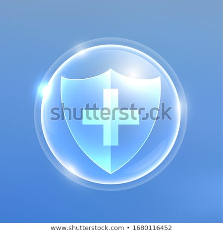 medical protextion shield against viruses or bacteria Stock photo © SArts