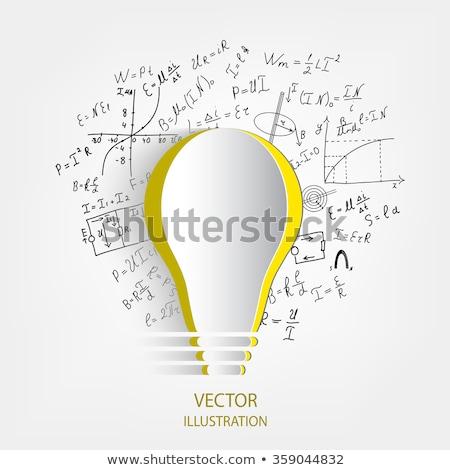 Succes formule jonge zakenman denken man Stockfoto © silent47