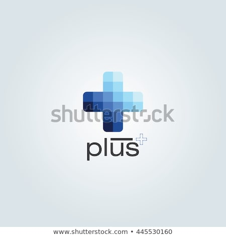 blue healthcare and medical background with plus sign Stock photo © SArts