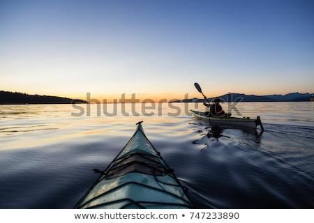 British Columbia Sunset on the West Coast stock photo © photoblueice