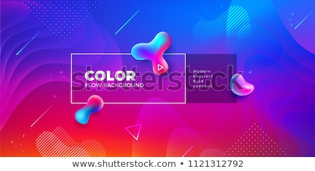 3d red futuristic abstraction background stock photo © fransysmaslo