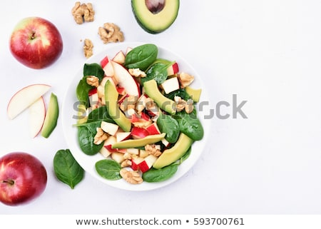 Stok fotoğraf: Delicious Summer Food Light Healthy Fresh Dishes Cuisine On Outd
