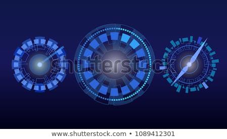 魔法 車 計 孤立した 黒 コンピューターグラフィックス ストックフォト © RAStudio