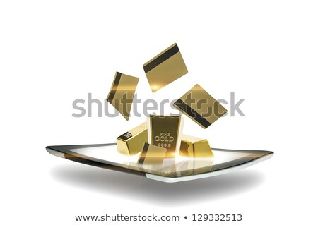 tablets bullion Stock photo © AnatolyM